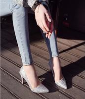 Fashion 7cm sexy women high heels EU 35-39