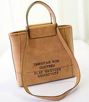 Autumn/winter 2014 new Korean fashion bag ladies bag baodan letters tide shoulder handbag fashion handbags