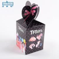 60pcs/lot PG1406 Christmas Box Folding Gift Box Candy  Fruit Gift Packing wholesale
