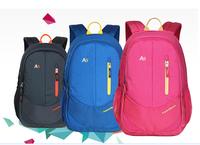 New coming 2015 high quality nylon firber fashion student school bag kippling men's travel bags women backpack mochila infantil