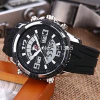 Watches men luxury brand T5 Sports Military Watch Dual time Digital Analog Quartz Watches Wristwatches Relogio Men Watch