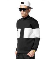 Space Cotton Sweatshirt Men/ Black White Crewneck Sweatshirt Man and Women/ Autumn Winter Jumper Man