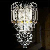 Modern crystal led wall lamp wall light elegant crystal wall lamp