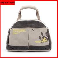 Hot Mens fashion casual hand bag wild retro canvas bag wave packet Messenger Bag
