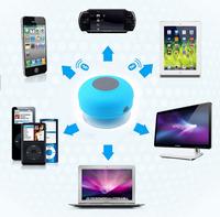 100% Original Bluetooth Speaker Waterproof Shower Portable  Wireless Car Handsfree Receive Call