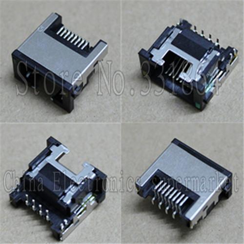 5X Laptop RJ45 connector LAN Jack for B480 V480A K49A E335 LG4858 Series ethernet port(China (Mainland))