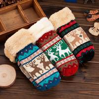 Fashion Autumn and winter women's wool gloves onta fashion popular women gloves