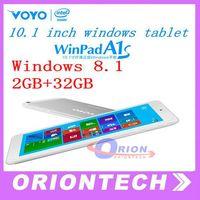 10.1  10 inch VOYO Winpad A1S Intel Quad Core CPU Windows 8.1 Tablet PC 2G /32GB Dual cameras HDMI Bluetooth Win8 Tablet PC