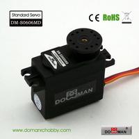 DOMAN RC DM-S0606MD 56g/0.14s/6.5kg.cm metal gear 360degree robot used 6kg digital servo