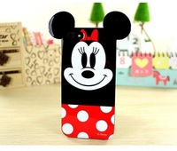 2014 New Fashion Super Cute Cartoon 3D Mickey Minnie Donald Daisy Duck Soft TPU Case For iphone 6 iPhone6 4.7 inch 20pcs lot