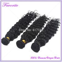 Ali Favorite Hair Peruvian Virgin Hair Weaves Deep Wave 3 pcs/Lot Peruvian Virgin Hair Extension,Unprocessed Human Hair Bundles