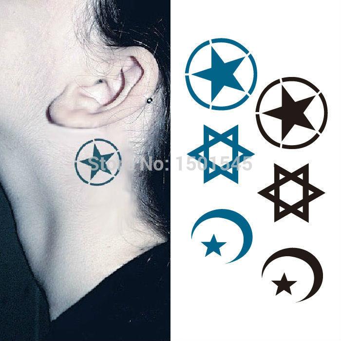 Luna Azul Tatuaje - Compra lotes baratos de Luna Azul Tatuaje de ...