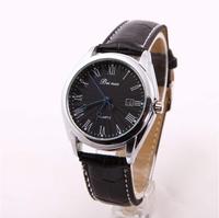 relogio masculino Luxury Brand Sports Military Watches Men Leather Strap Quartz Watch full steel date men watch