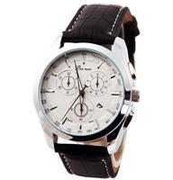2014 new fashion leather strap watches men luxury brand sports casuall dress watch quartz lady wristwatch