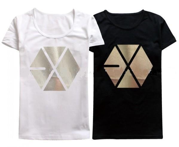 Женская футболка XOXO /& /EXO EXO kpop T exo first album vol 1 xoxo kiss ver repackage release date 2013 08 06 kpop