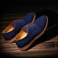 NEW 2014 Men's casual shoes large size shoes British men and men's flat shoes