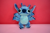 Free shipping 28cm Lilo and stitch with four hans plush toys for children cartoon action figure plush dolls Christmas gift