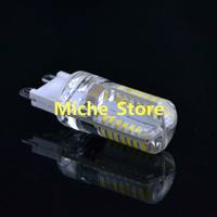 100pcs/lot G9 led 3W 3014 SMD 200LM Warm white/white Non-polar LED Bulb Lamp High Lumen Energy Saving AC 220V-240V