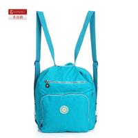 Water wash cloth one shoulder double-shoulder multi-purpose bag student bag computer flat bag 5187