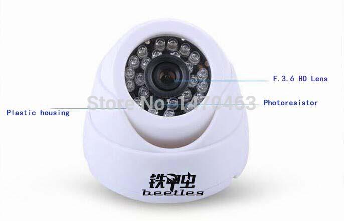 CCTV Camera Dome Security Camera IR-CUT PAL752*582 SONY 3142 CCD 1000TVL Night Vision Distance 15M DC12V Free Shipping(China (Mainland))