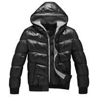2014 NEW Men Winter Jacket Thick Warm Plus Size 3XL Men Cotton Wadded Hood Coat Mens Down & Parkas Men Down Jacket S M to XXL