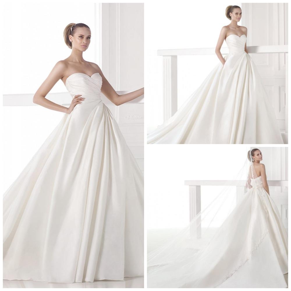 Modern Wedding Dresses Backless : Modern vintage wedding dresses ball gowns backless robe de marie