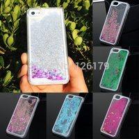 2014 New Fashion Liquid Glitter Stars Quicksand Hard Back Case Cover for Phone 5 5S 6