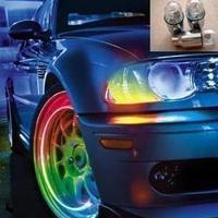 Car seven-color light  auto wheel light  valve cap light  wheel light Car Decoration