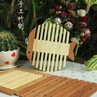 Endulge for za kka twiddlefish handmade bamboo mat pot mat coasters square shape heat pad bowl pad disc pads