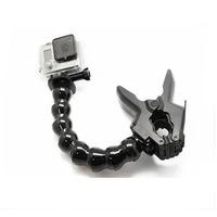 Jaws Flex Clamp Mount + Adjustable Neck for Gopro Hero3+ /3/2 Accessories