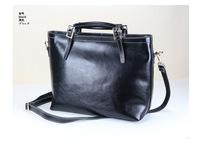Hot Sale New Fashion 100% Oil Genuine Leather Women Motorcycle Tote Satchel Shoulder Handbag Ladies Real Leather Messenger Bags