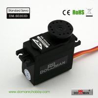DOMAN RC DM-S0303D 38g/0.14s/3.5kg.cm POM gear 300degree robot used 3kg digital servo