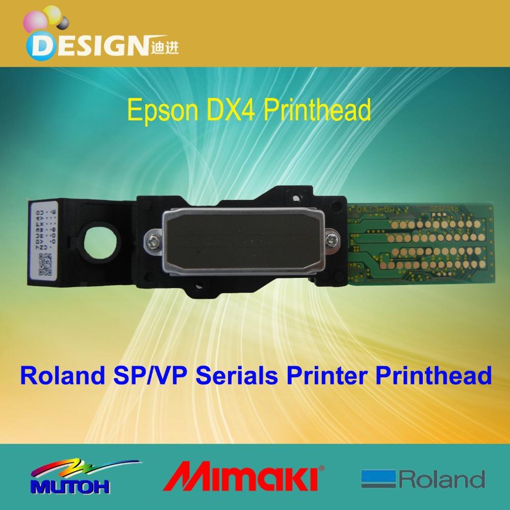 Brand new For Roland SJ XJ RS SC XC FJ SP VP 300 540 545 640 740 745 1000 1045 printers original roland dx4 printhead solvent(China (Mainland))