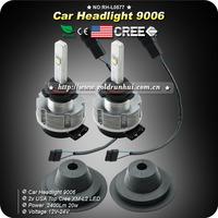2XHeadlight USA TOP CREE XM-L2 40W 4800LM 6000K Car Automotive Led Fog Light Headlamp Kit DRL Bulb HB4 9006