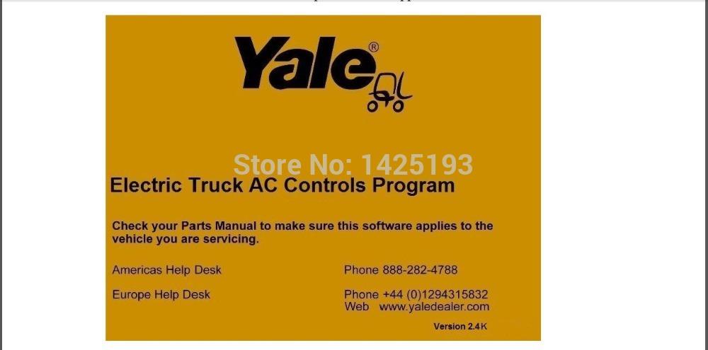 Yale Electric Truck AC Controls Program ETACC v2.4K(China (Mainland))