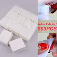 Hot 900pcs Cotton Lint Pads Paper Nail Tools/Nail Polish Remover Wipes Nail Art Tips Manicure/Nail Art Equipment DGCZ6005