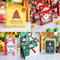 (1 Lot=5 Sets=225 Pcs) DIY Scrapbooking Paper Christmas Diary Mini Stickers Wedding Album Decoration Sealing Stickers