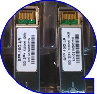 10 Gigabit Ethernet 1310nm Wavelength Single mode Dual LC 10km Distance SFP+ Transceiver Module