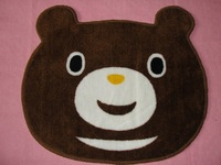 Free shipping cartoon bear rug door mat