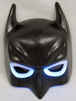 Free Shipping Batman Kids & Adult Mask LED Glowing Party Masks Halloween Cosplay Christmas Boy Gift