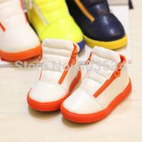 Baby Winter Boots PU Children's Boots Warm Fur Boy Shoe Girls Boots Children Shoes 4 Colors Children sneakers Euro size 21-25
