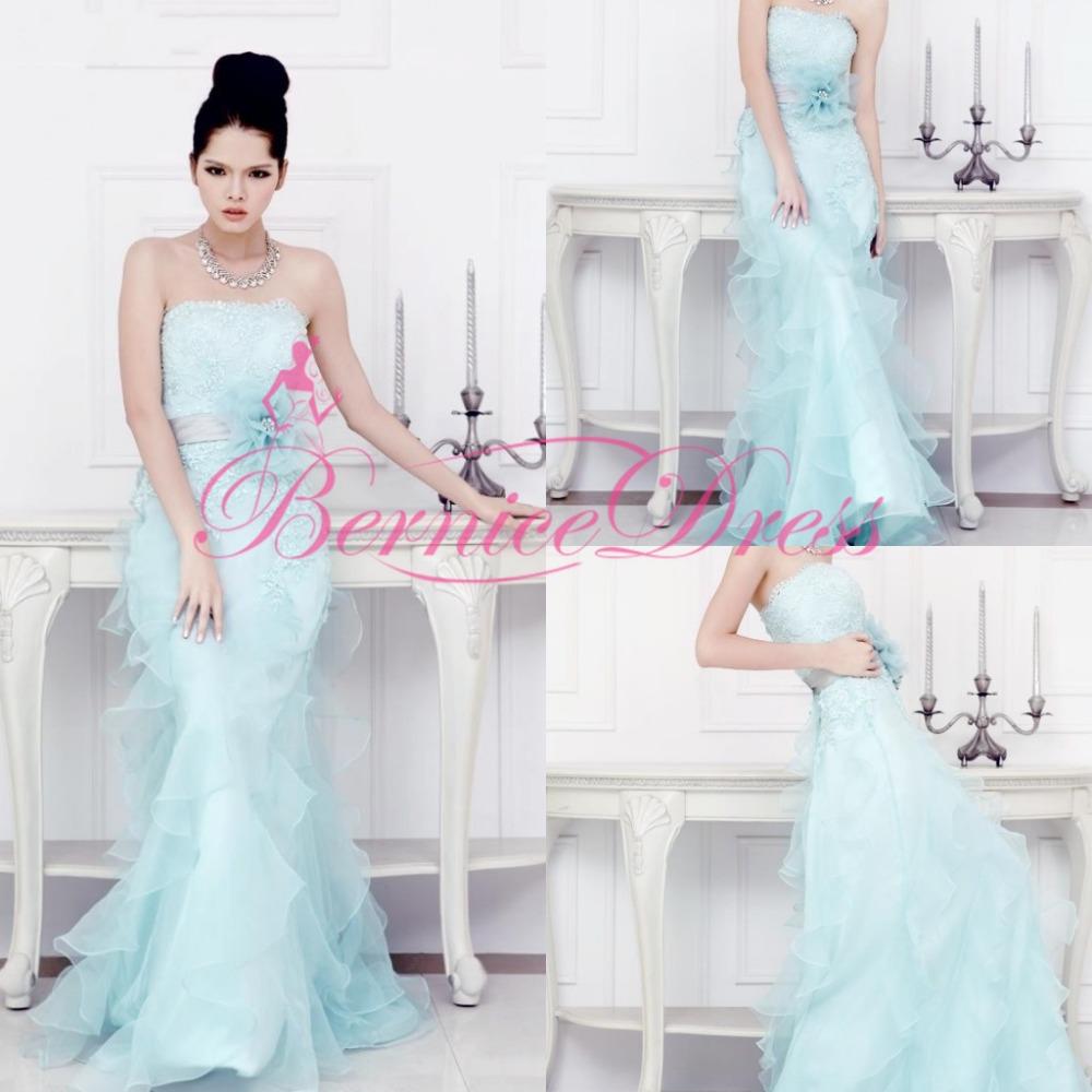 Vestido de boda del diseñador Fake
