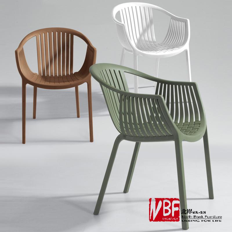 Online kopen wholesale moderne witte plastic stoel uit china moderne witte plastic stoel - Moderne stoelen ...