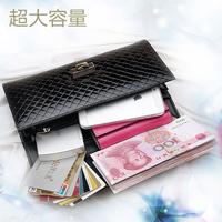 Multifunctional clutch bag wallet female mobile phone bag chain female day clutch fashion cowhide shoulder bag