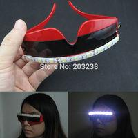 New arrived led glasses 4 color laser glasses for love wedding sex woman glasses scream costume led glasses for parties