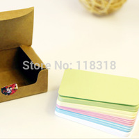 Wholesale,(1 Lot=3 Sets=300 Sheets) DIY Scrapbooking Paper Tags Vintage Wedding Invitations Crafts Kraft Christmas Postcards