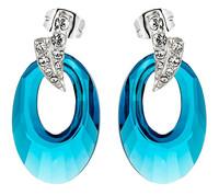 Sumao Women's Casual Stud Earrings Blue