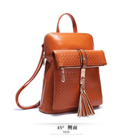 2014 new handbag shoulder bag handbag Korean version of Star Academy retro romantic Su small backpack schoolbag A18