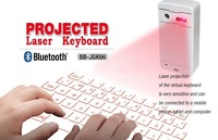 Full Size Wireless Bluetooth Virtual Laser Keyboard Ultra Portabel Mini Keyboard For Lenovo phone HUAWEI