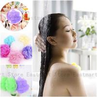 2x Bath Shower Soap Bubble Soft Body Wash Exfoliate Puff Sponge Mesh Net Ball
